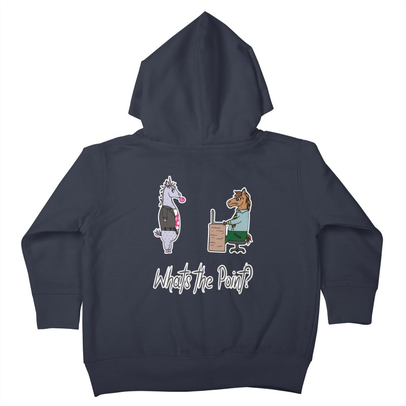 What's the Point? Anarchist Unicorn Kids Toddler Zip-Up Hoody by Visit kawaeetee.com for more!