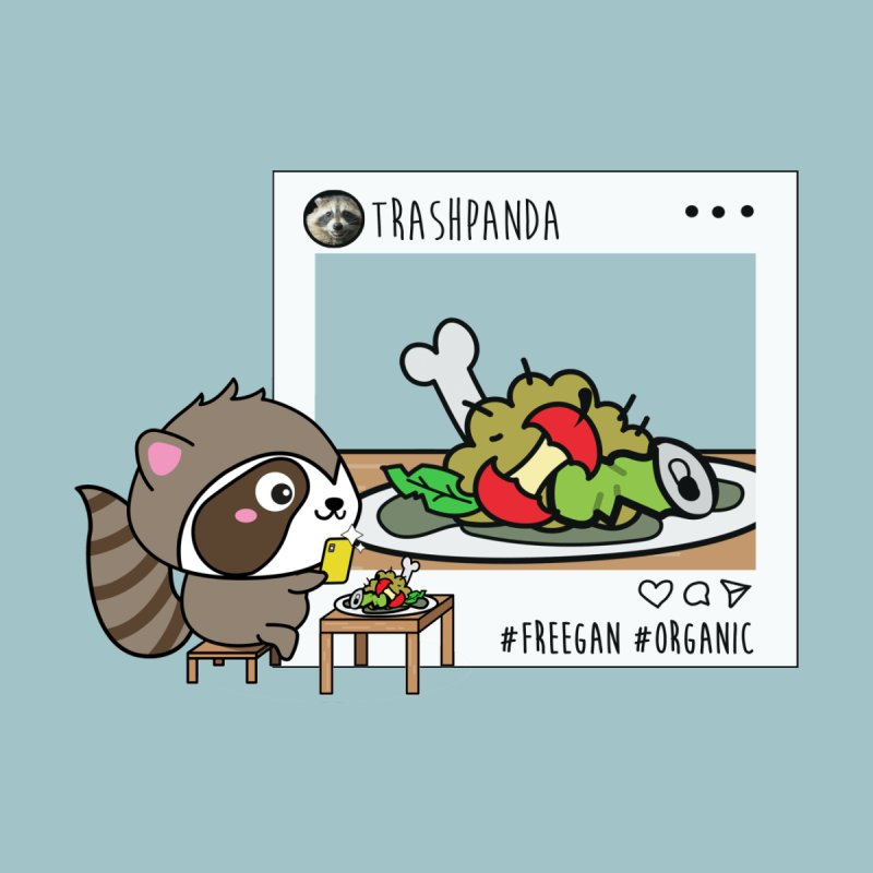 Social Animals - Trash Panda Raccoon by Kawaee Tee's Shop