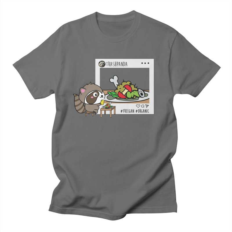 Social Animals - Trash Panda Raccoon Men's T-Shirt by Visit kawaeetee.com for more!