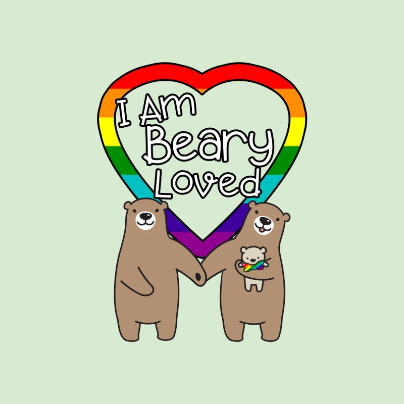 I am Beary Loved LGBTQ Inclusive Family - Bowtie by Kawaee Tee's Shop