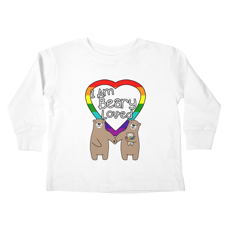 I am Beary Loved LGBTQ Inclusive Family - Bowtie Kids Toddler Longsleeve T-Shirt by Visit kawaeetee.com for more!