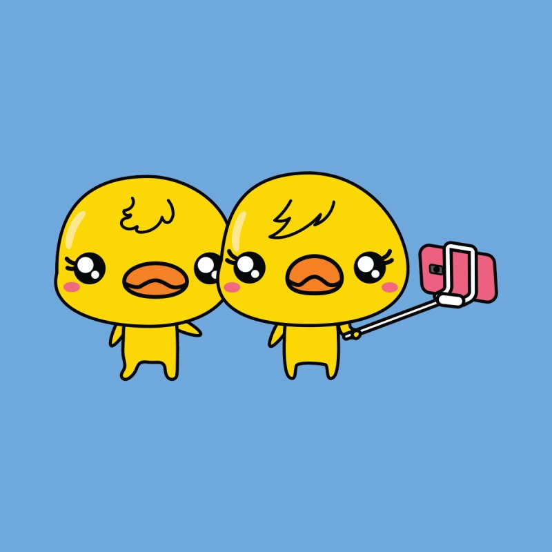 Social Animals - Cute Duck Face Selfie Stick Accessories Skateboard by Visit kawaeetee.com for more!