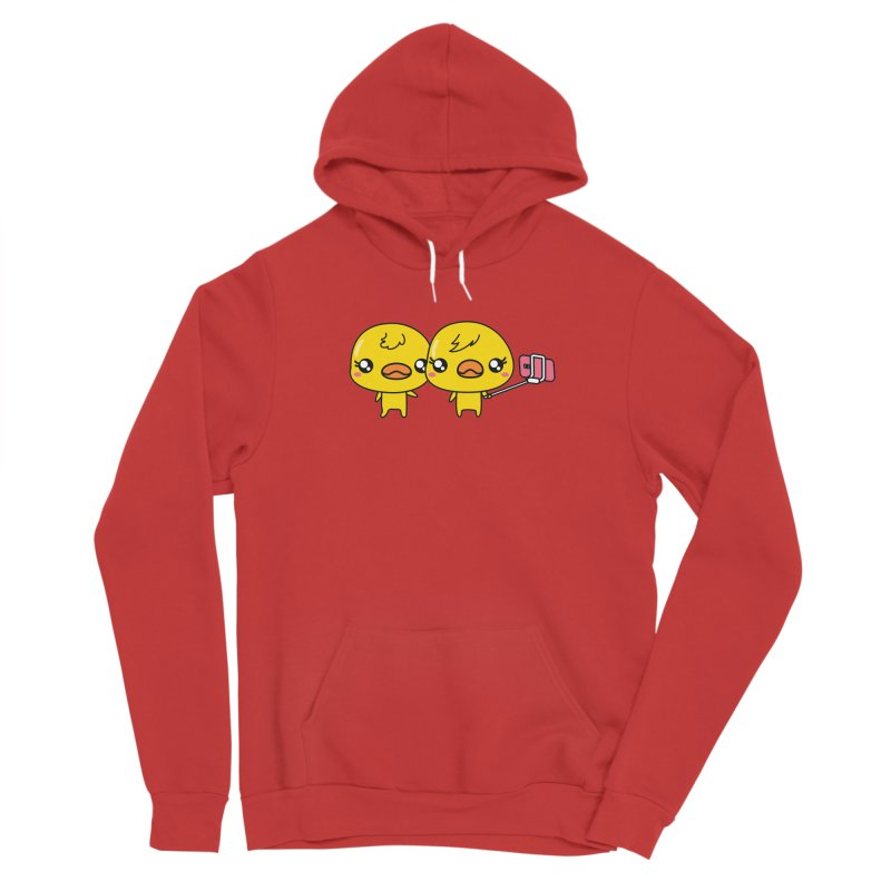 Social Animals - Cute Duck Face Selfie Stick Women's Pullover Hoody by Visit kawaeetee.com for more!