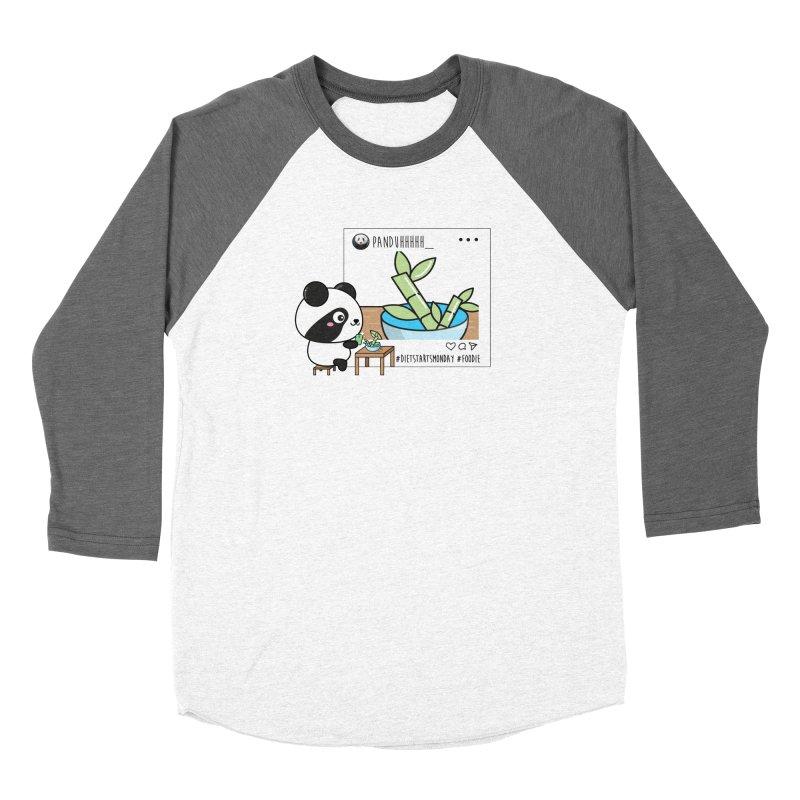 Social Animals - Giant Panda Women's Longsleeve T-Shirt by Visit kawaeetee.com for more!