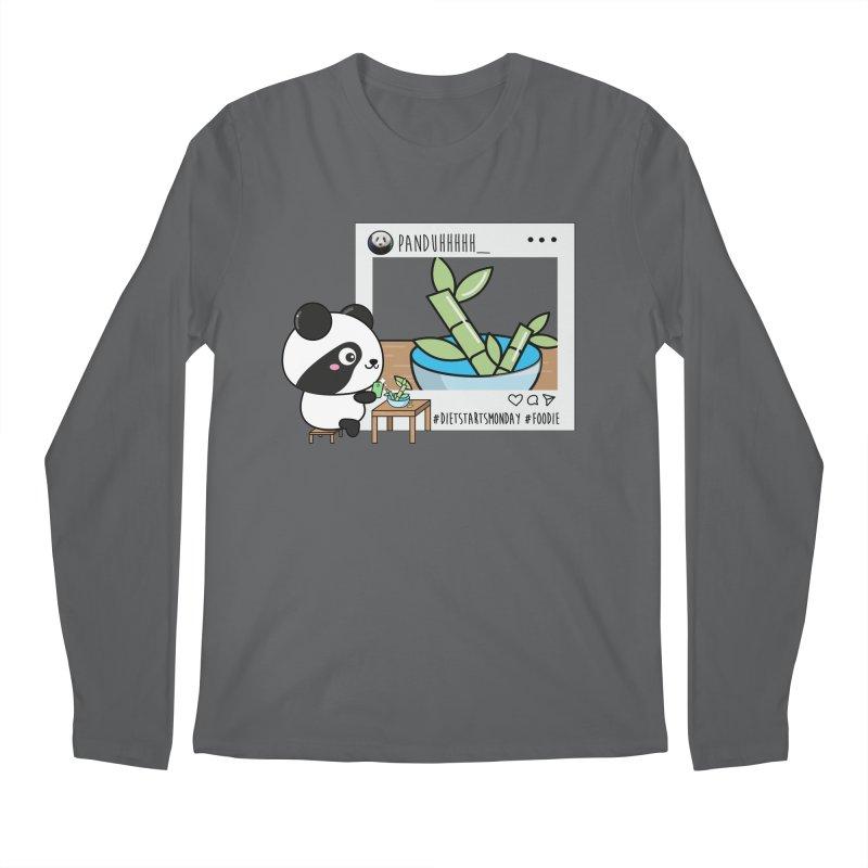 Social Animals - Giant Panda Men's Longsleeve T-Shirt by Visit kawaeetee.com for more!