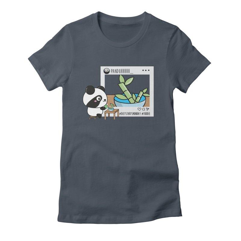 Social Animals - Giant Panda Women's T-Shirt by Visit kawaeetee.com for more!
