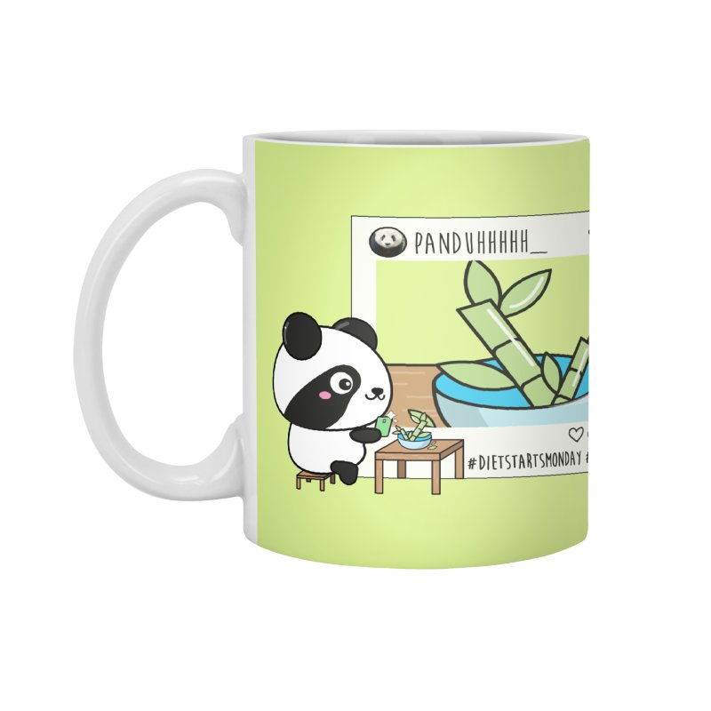 Social Animals - Giant Panda Accessories Mug by Visit kawaeetee.com for more!