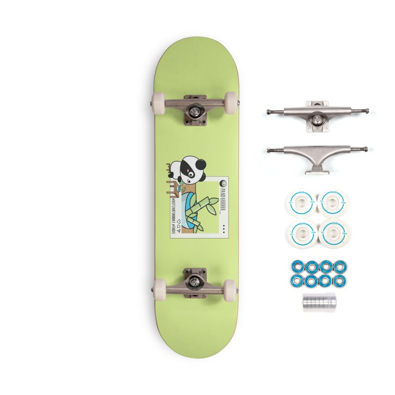 Social Animals - Giant Panda Accessories Skateboard by Visit kawaeetee.com for more!