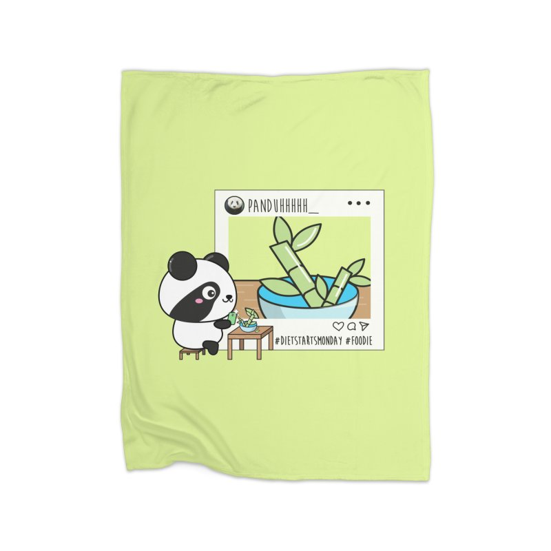 Social Animals - Giant Panda Home Blanket by Visit kawaeetee.com for more!