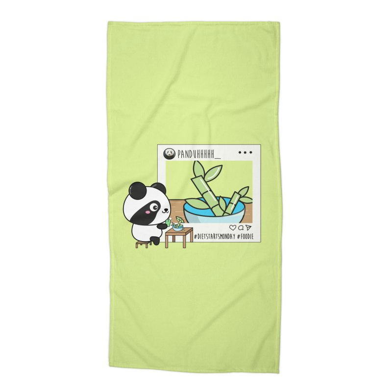 Social Animals - Giant Panda Accessories Beach Towel by Visit kawaeetee.com for more!