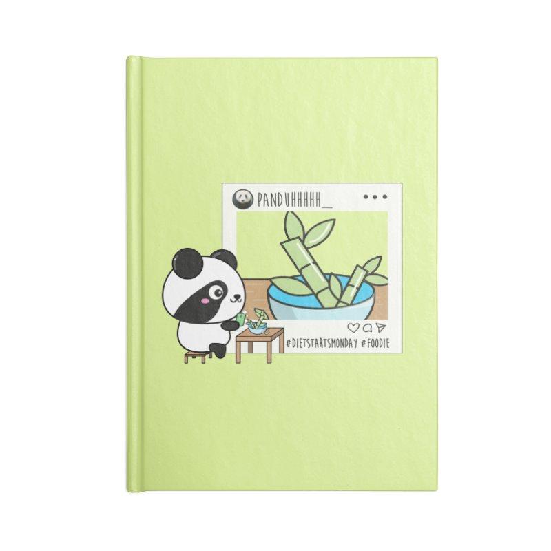 Social Animals - Giant Panda Accessories Notebook by Visit kawaeetee.com for more!
