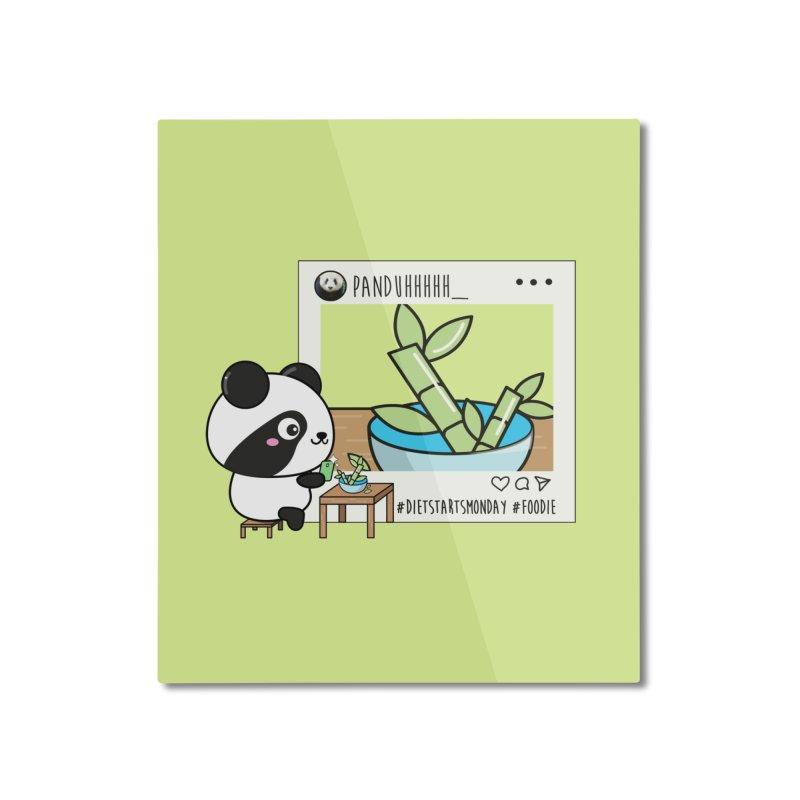 Social Animals - Giant Panda Home Mounted Aluminum Print by Visit kawaeetee.com for more!