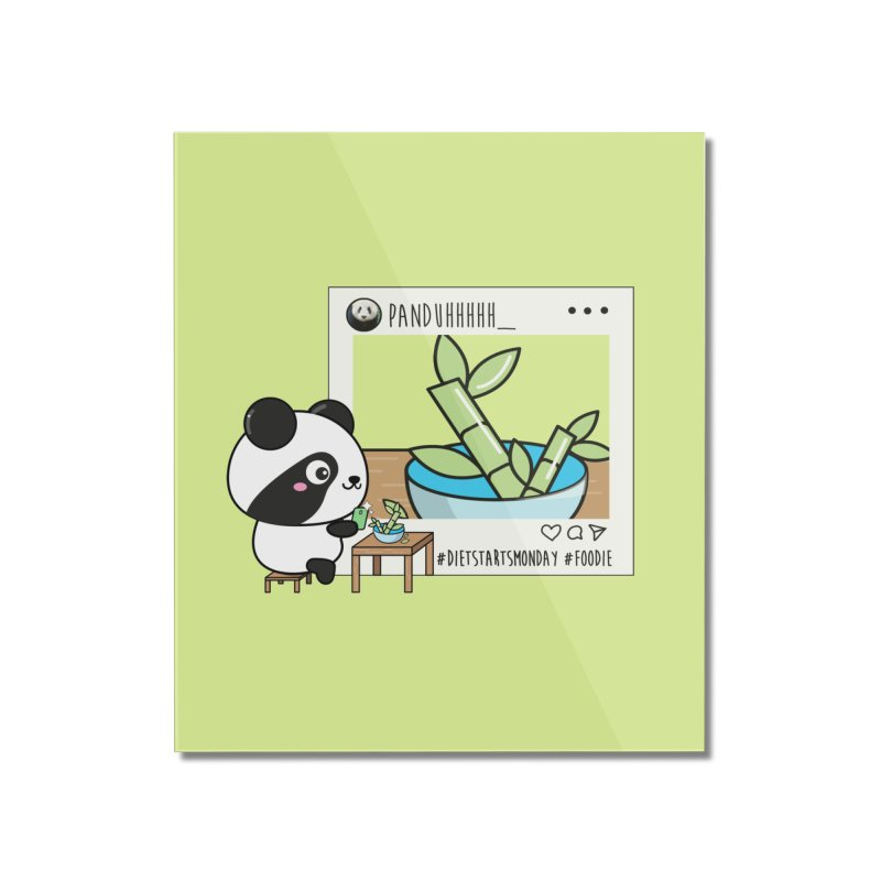 Social Animals - Giant Panda Home Mounted Acrylic Print by Visit kawaeetee.com for more!