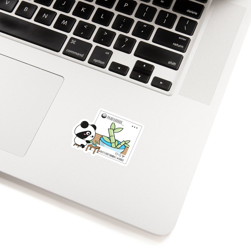 Social Animals - Giant Panda Accessories Sticker by Visit kawaeetee.com for more!
