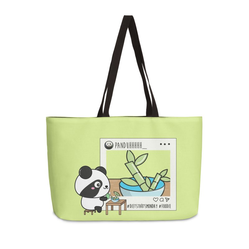 Social Animals - Giant Panda Accessories Bag by Visit kawaeetee.com for more!