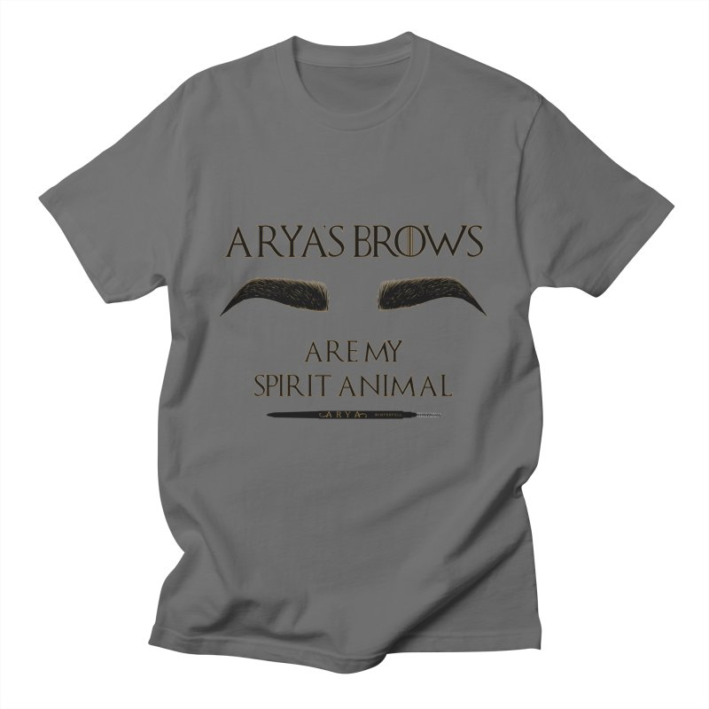 Arya's Brows are My Spirit Animal Men's T-Shirt by Visit kawaeetee.com for more!