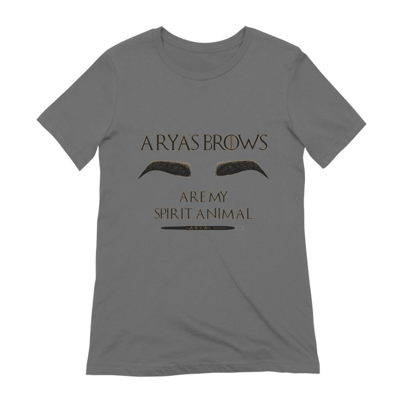 Arya's Brows are My Spirit Animal Women's T-Shirt by Visit kawaeetee.com for more!