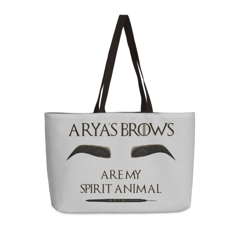 Arya's Brows are My Spirit Animal Accessories Bag by Visit kawaeetee.com for more!