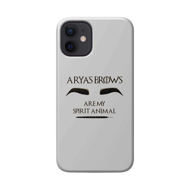 Arya's Brows are My Spirit Animal Accessories Phone Case by Visit kawaeetee.com for more!