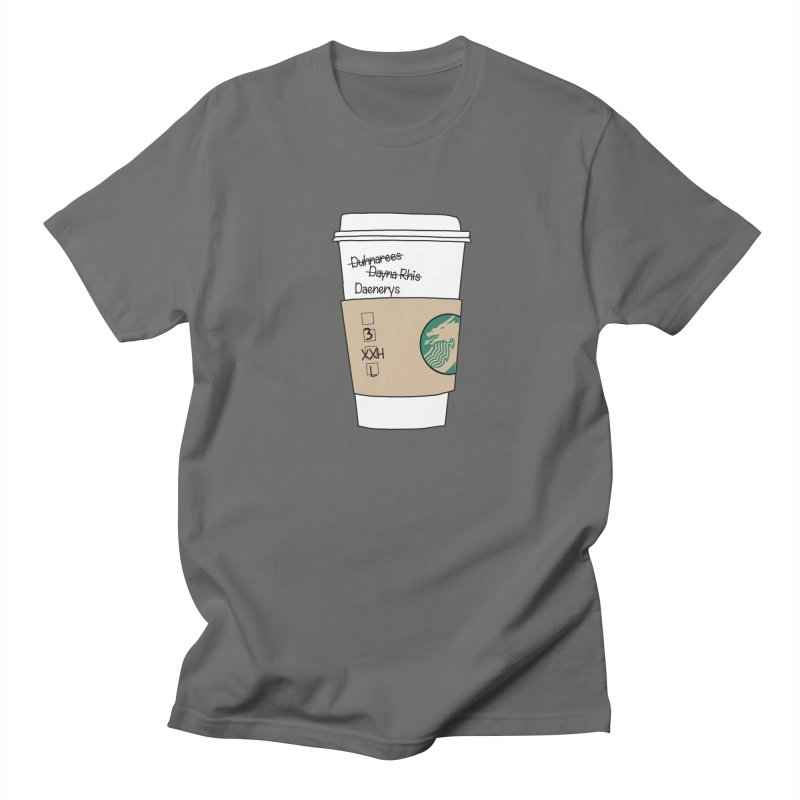 Daenerys Targaryen Starbucks Game of Thrones Men's T-Shirt by Visit kawaeetee.com for more!