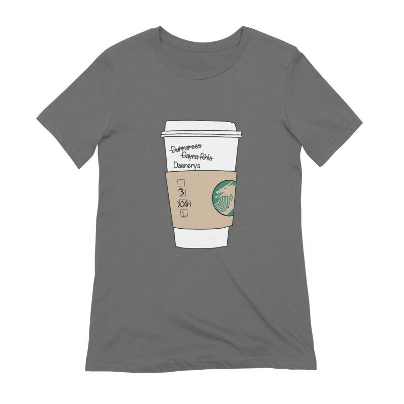 Daenerys Targaryen Starbucks Game of Thrones Women's T-Shirt by Visit kawaeetee.com for more!