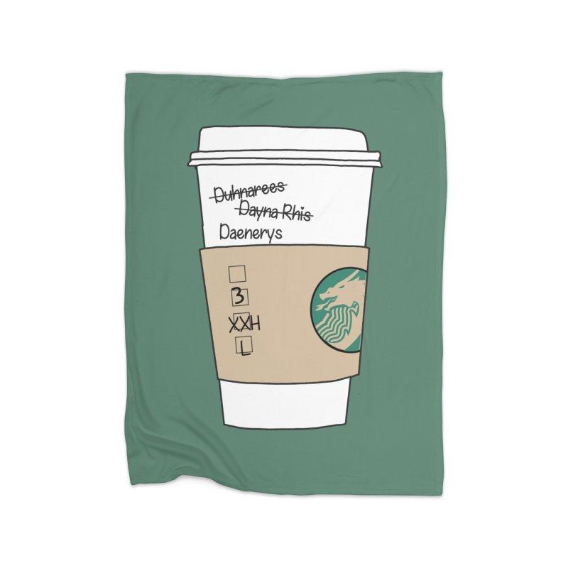 Daenerys Targaryen Starbucks Game of Thrones Home Blanket by Visit kawaeetee.com for more!