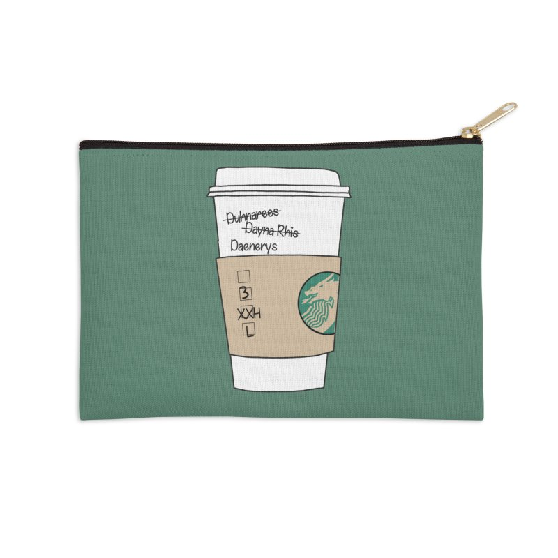 Daenerys Targaryen Starbucks Game of Thrones Accessories Zip Pouch by Visit kawaeetee.com for more!