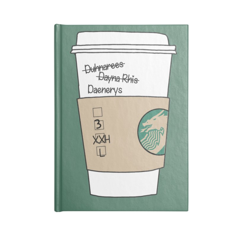 Daenerys Targaryen Starbucks Game of Thrones Accessories Notebook by Visit kawaeetee.com for more!