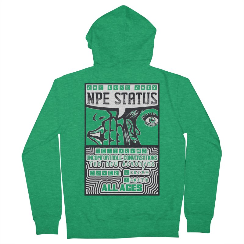NPE Status Retro Band Tee Men's Zip-Up Hoody by Visit kawaeetee.com for more!