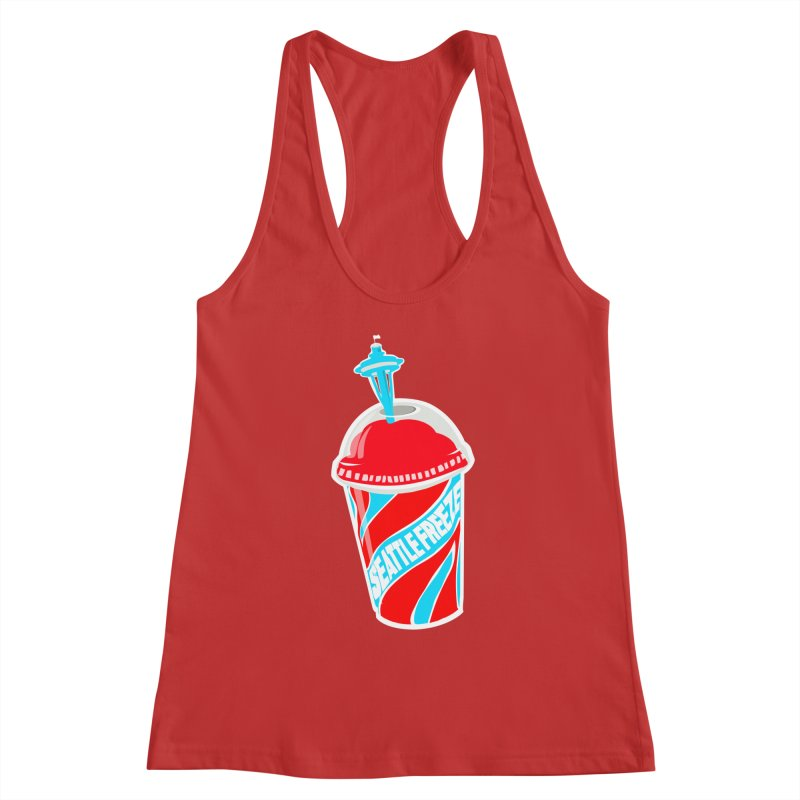 Seattle Freeze Women's Tank by Visit kawaeetee.com for more!