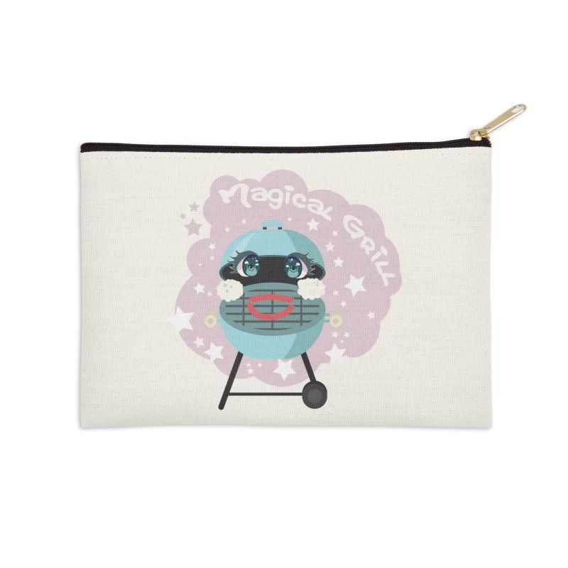 Magical Grill Accessories Zip Pouch by Visit kawaeetee.com for more!