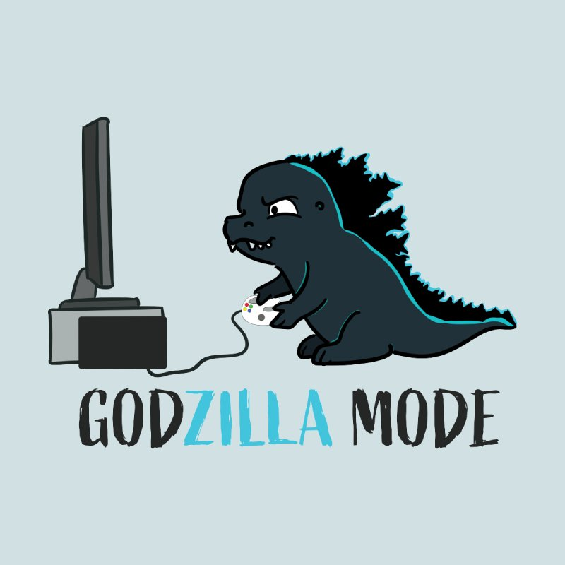 Godzilla Mode Gamer by Kawaee Tee's Shop