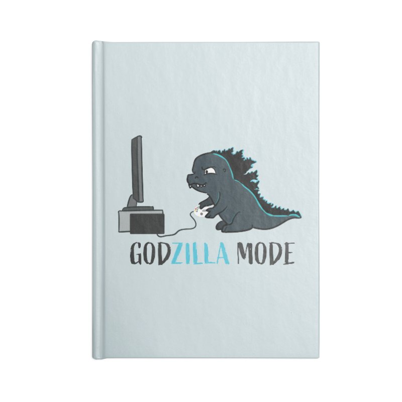 Godzilla Mode Gamer Accessories Notebook by Visit kawaeetee.com for more!