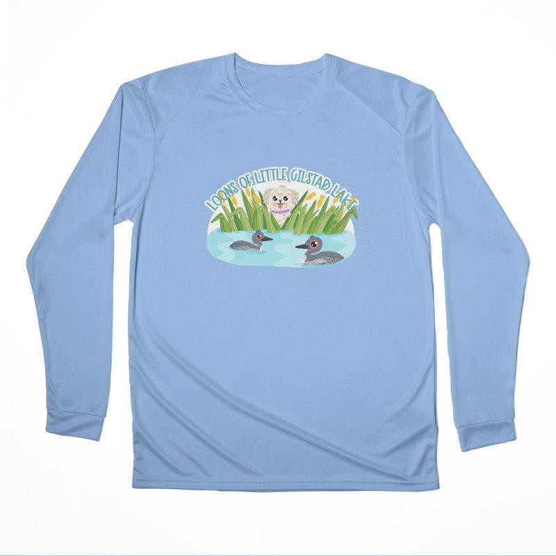 Loons of Little Gilstad Lake Women's Longsleeve T-Shirt by Visit kawaeetee.com for more!