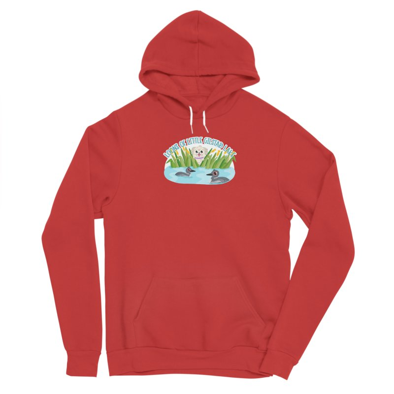 Loons of Little Gilstad Lake Men's Pullover Hoody by Visit kawaeetee.com for more!