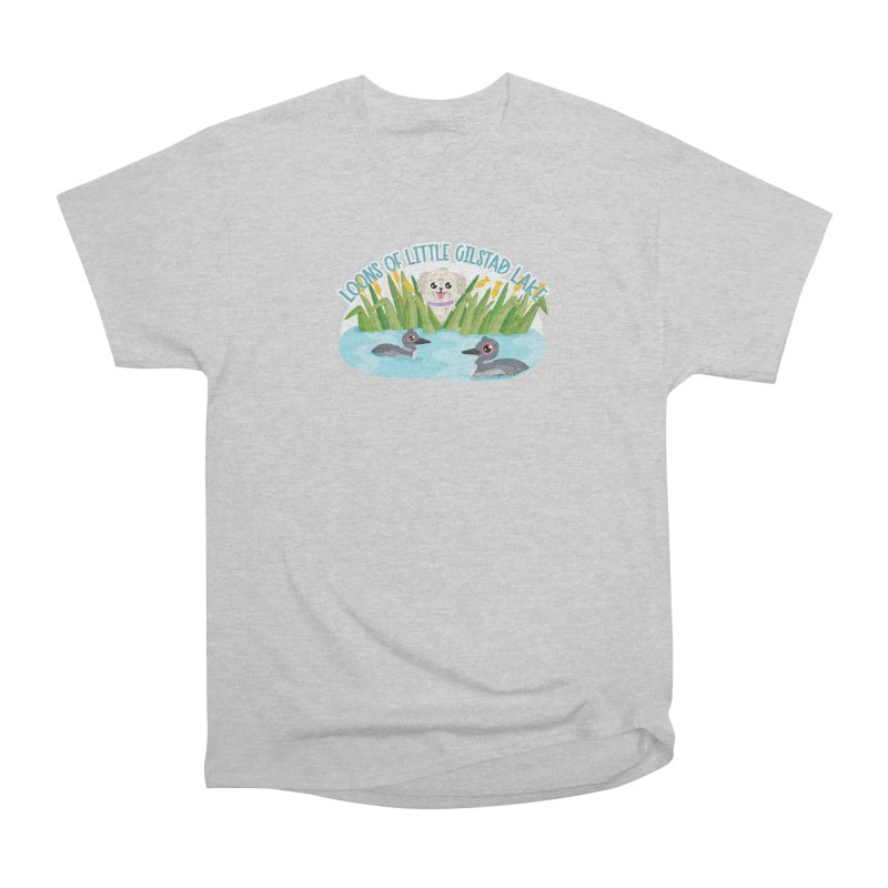 Loons of Little Gilstad Lake Women's T-Shirt by Visit kawaeetee.com for more!