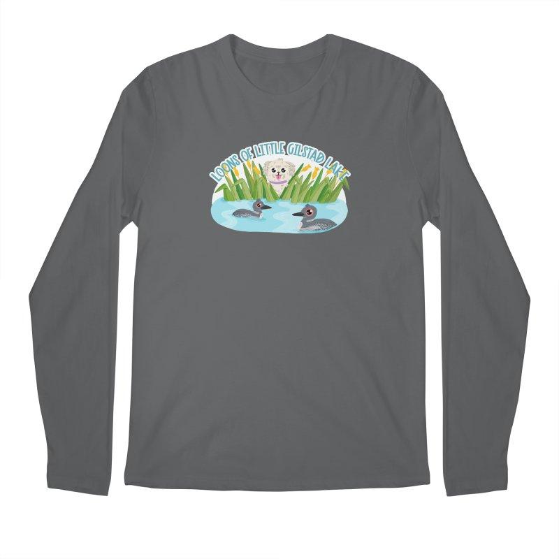 Loons of Little Gilstad Lake Men's Longsleeve T-Shirt by Visit kawaeetee.com for more!