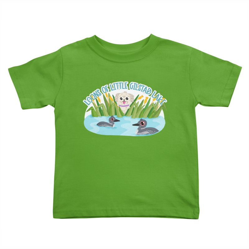 Loons of Little Gilstad Lake Kids Toddler T-Shirt by Visit kawaeetee.com for more!