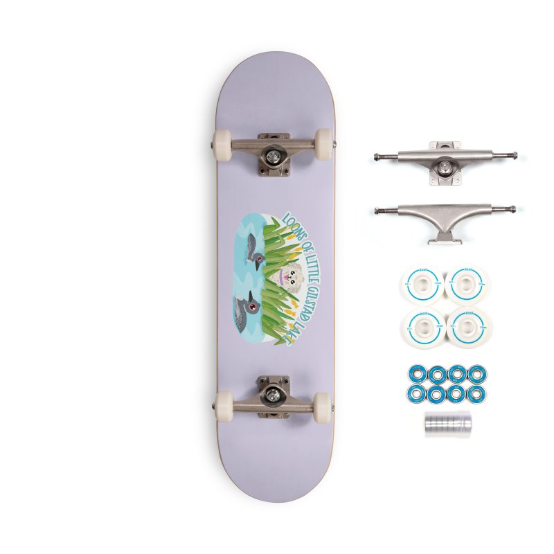 Loons of Little Gilstad Lake Accessories Skateboard by Visit kawaeetee.com for more!