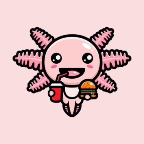 Design for Fast Food Axolotl