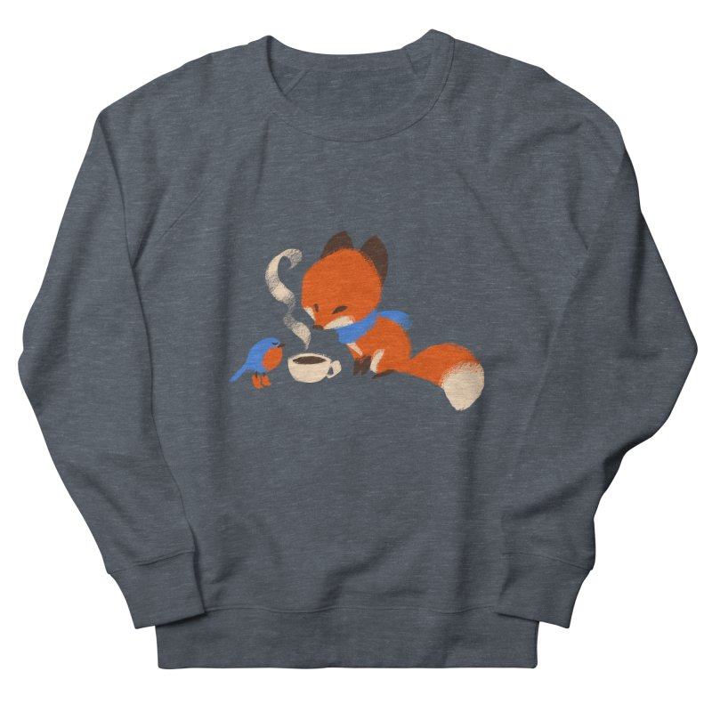 Fox & Boots: Tea Time Men's Sweatshirt by kayjkay's Artist Shop