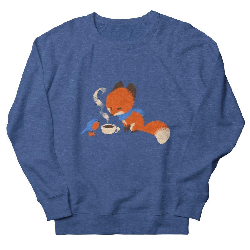 Fox & Boots: Tea Time Men's Sweatshirt by kayjkay's Artist Shop