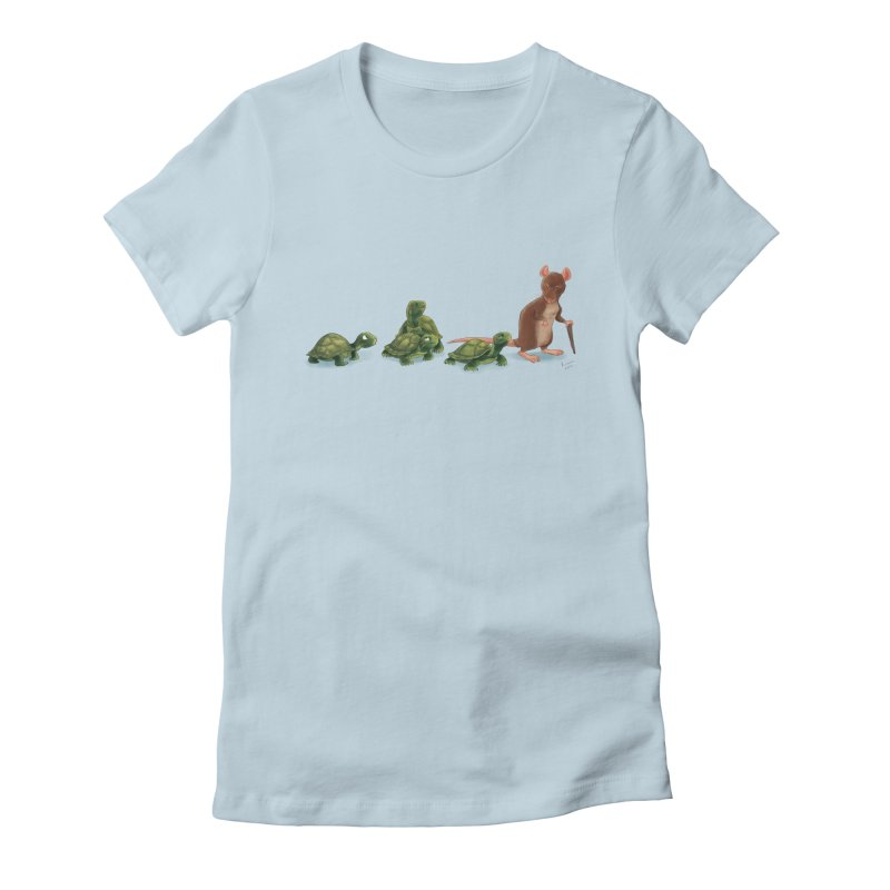 Awkward Family Women's Fitted T-Shirt by kayjkay's Artist Shop