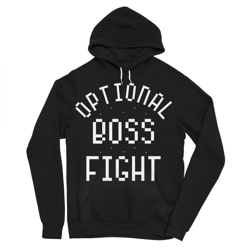 Optional Boss Fight Women's Sponge Fleece Pullover Hoody by Kaylee Pinecone's Artist Shop