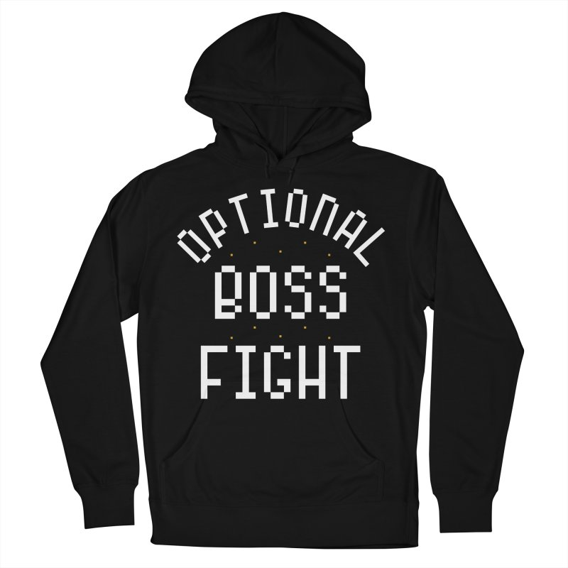 Optional Boss Fight Men's French Terry Pullover Hoody by Kaylee Pinecone's Artist Shop