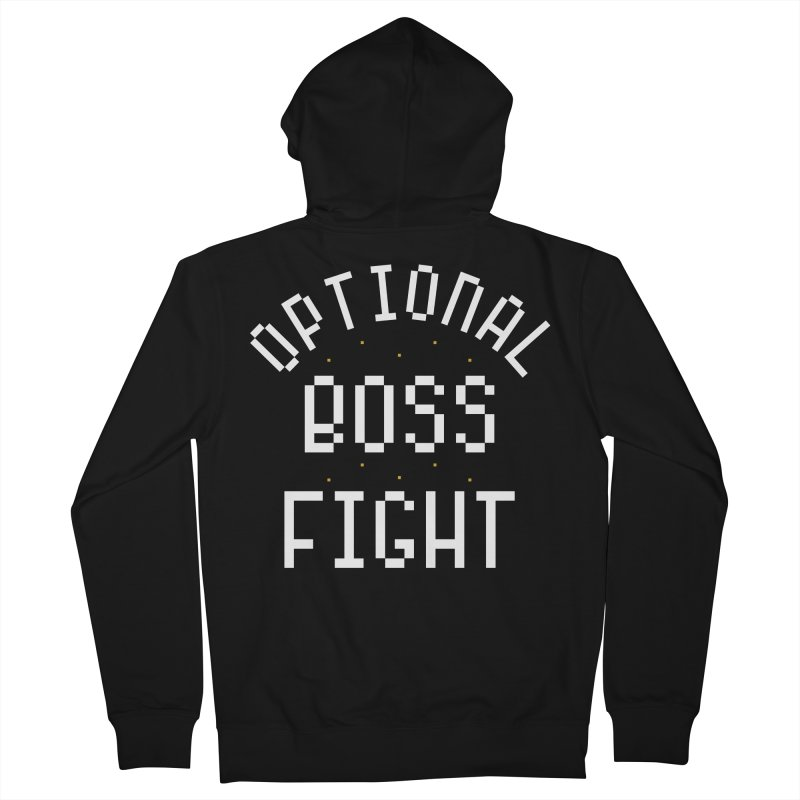 Optional Boss Fight Women's French Terry Zip-Up Hoody by Kaylee Pinecone's Artist Shop
