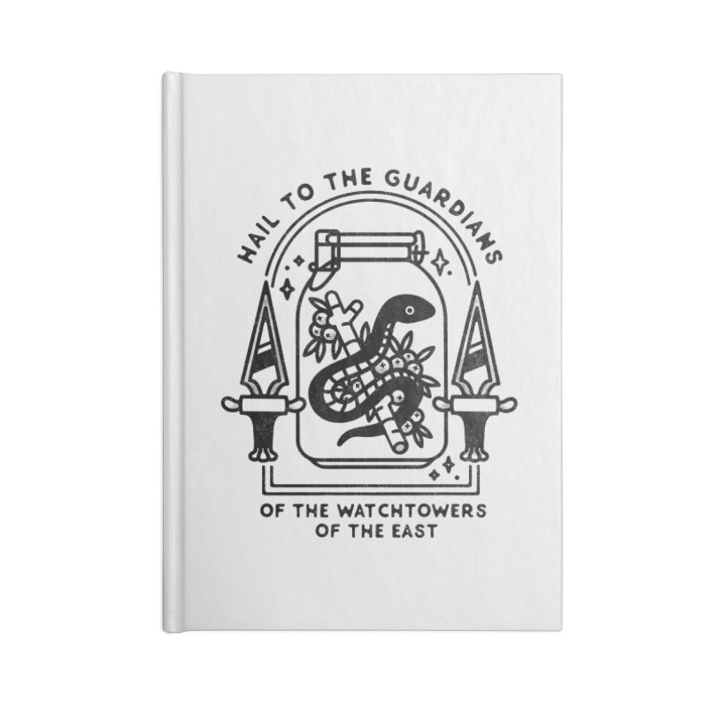 Guardians Of The East Accessories Lined Journal Notebook by Kaylee Pinecone's Artist Shop