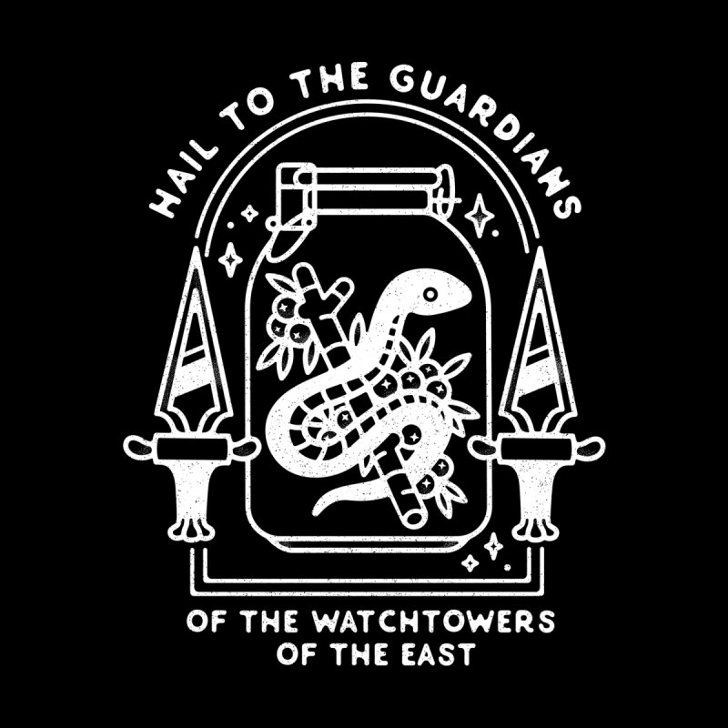 Guardians Of The East. Men's T-Shirt by Kaylee Pinecone's Artist Shop