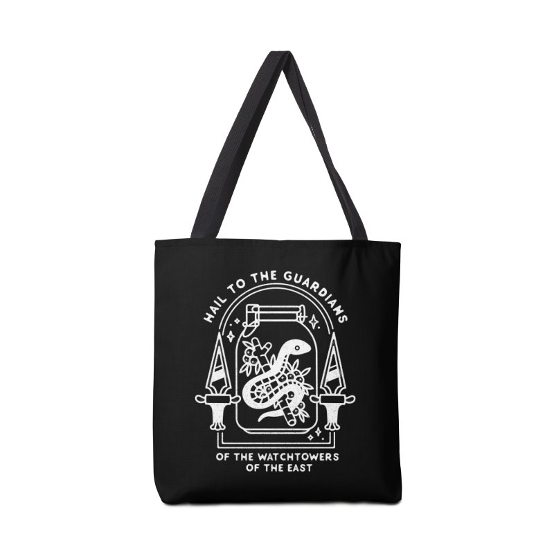 Guardians Of The East. Accessories Tote Bag Bag by Kaylee Pinecone's Artist Shop
