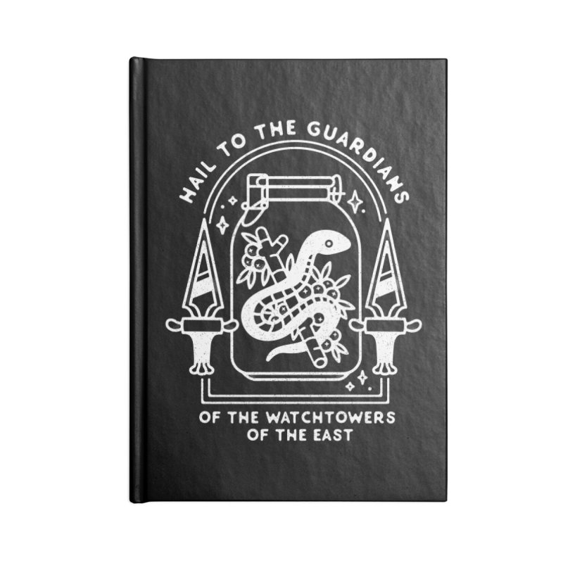 Guardians Of The East. Accessories Lined Journal Notebook by Kaylee Pinecone's Artist Shop